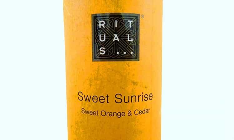 Rituals sweet sunrise geurstokjes