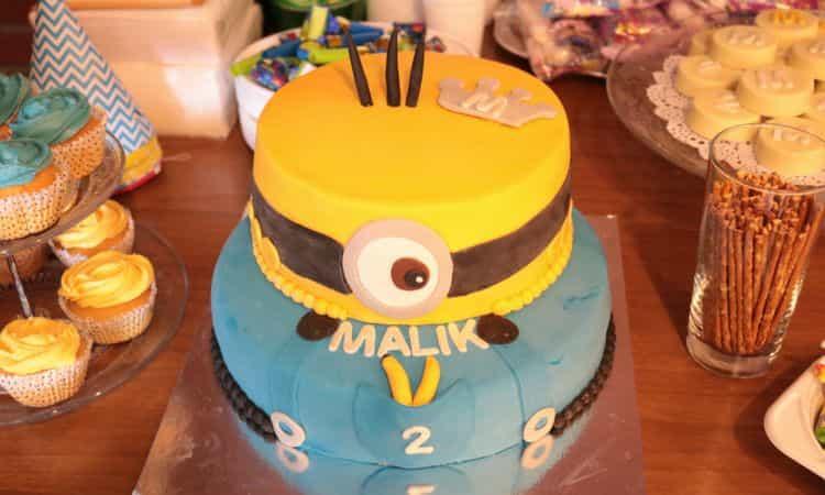 Verjaardag van Malik, 2 jaar!