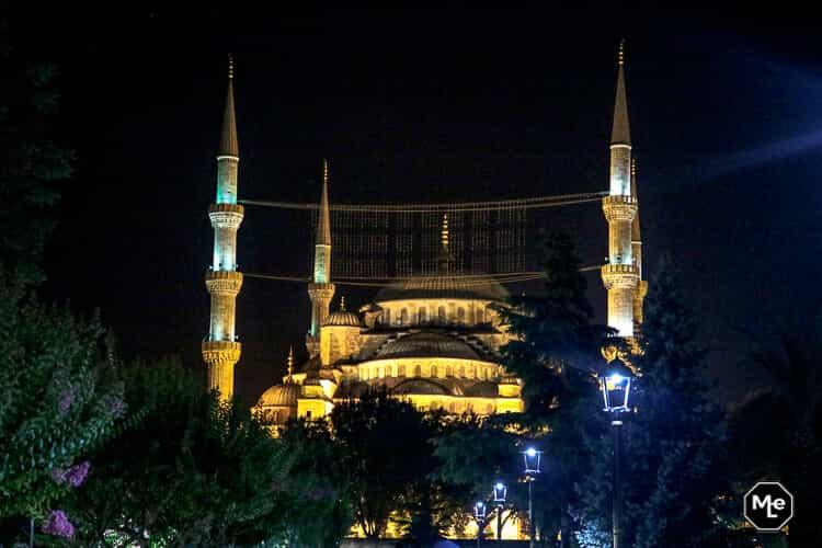 Bezienswaardigheden in Istanbul - blauwe moskee
