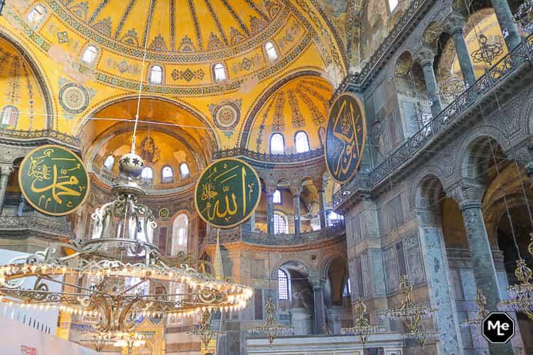 Bezienswaardigheden in Istanbul-Aya Sofya
