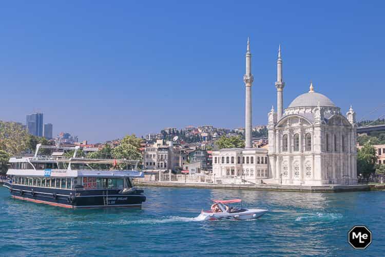 Bezienswaardigheden in Istanbul- ortakoy moskee