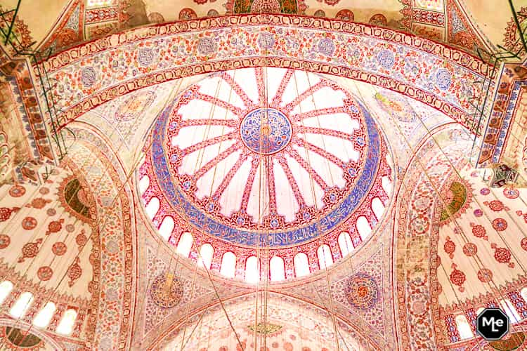 Bezienswaardigheden in Istanbul-Sulthan Ahmet Moskee