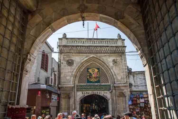 Bezienswaardigheden in Istanbul- grand bazaar
