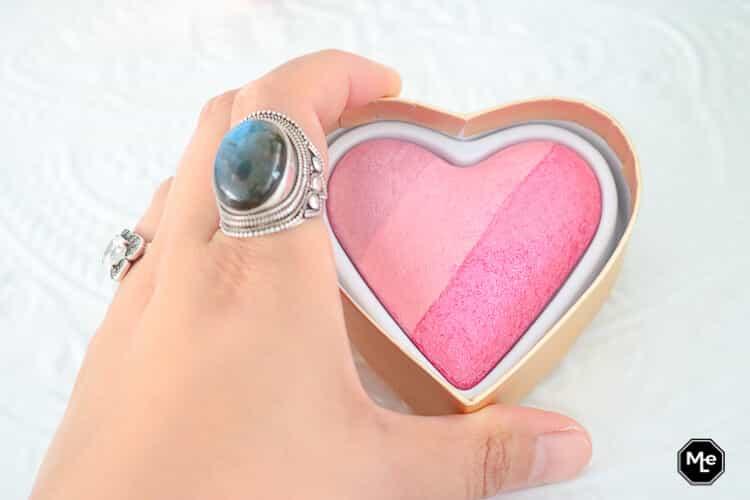 I Heart Makeup Blushing Heart