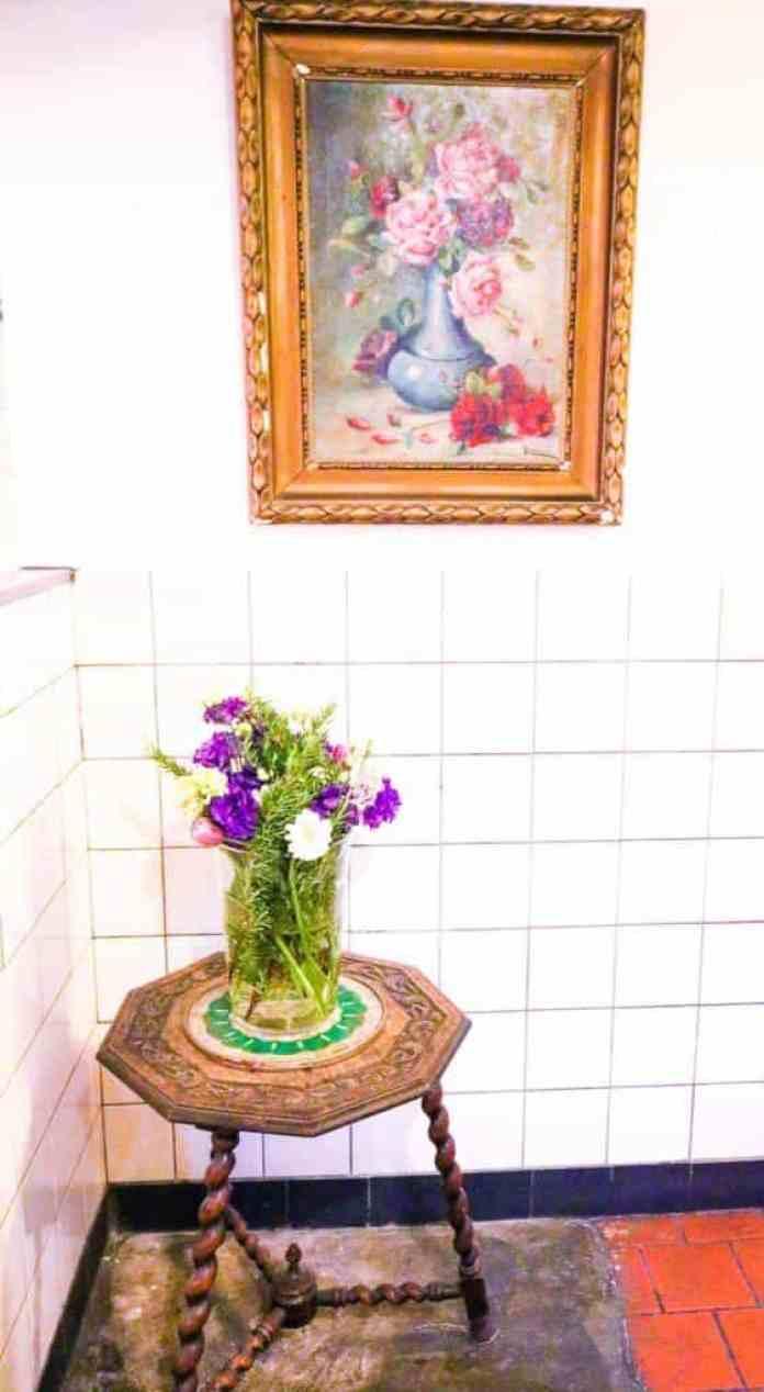 Hotspot - de bakkerswinkel oud schilderij