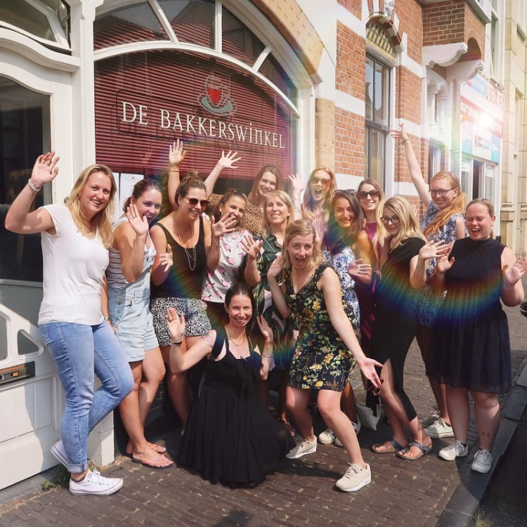 Bloggerlunch event met alle bloggers