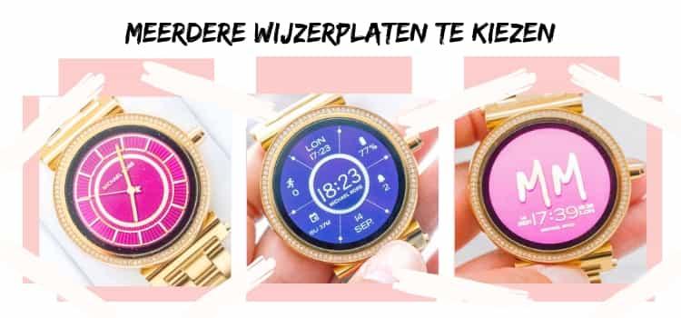 Michael Kors Acces Sofie smartwatch-wijzerplaten