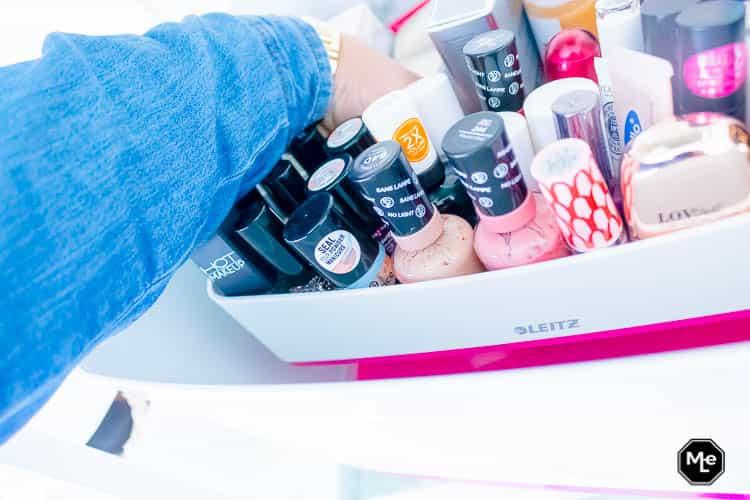 Mijn Make-up stash opbergen in de Mybox