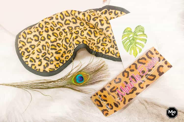 Makeup Eraser Cheetah flatlay