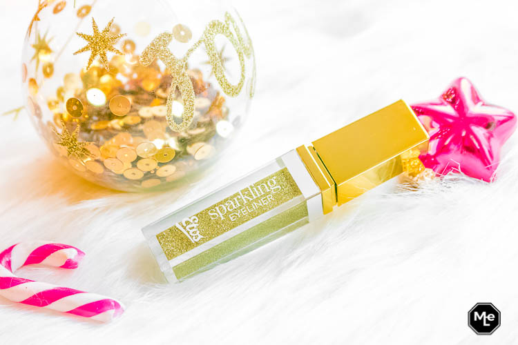 Etos Limited Edition Christmas Eyeliner Goud - verpakking close-up
