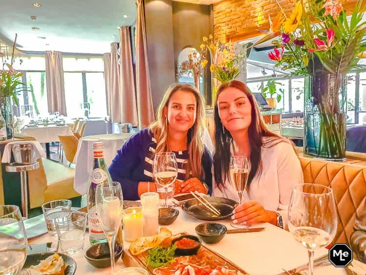 Samen met Michelle bij The Harbour Club