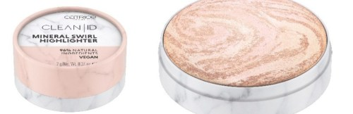 Catrice Clean ID - Mineral Swirl Highlighter - 010 Silver Rose