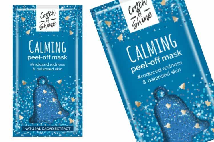 Catch en Shine Peel-Off Glittermasker - Calming