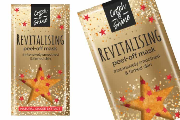 Catch en Shine Peel-Off Glittermasker - Revitalising