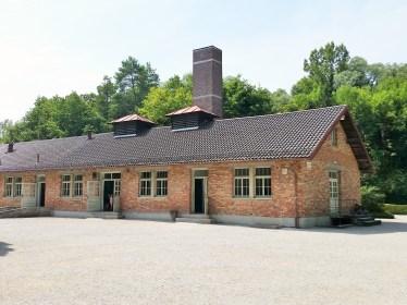 Gas chamber and new crematorium