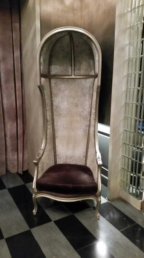 Hotel Lumen lobby chair