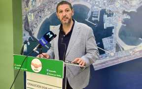 Mustafa Aberchán en rueda de prensa
