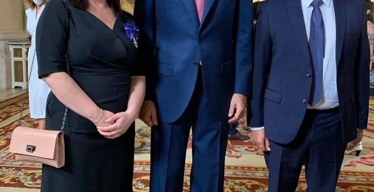 Silvia Cano Moreno recibe la Medalla de la Orden al Mérito Civil