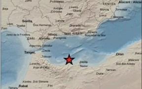 Un terremoto de magnitud 4.7 en Alborán sorprende a los melillenses en plena madrugada