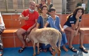 Familia celebra Aid El Kebir
