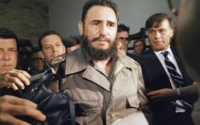 Fidel Castro entrevistado por medios