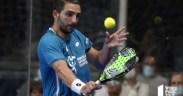 Jesús Moya en el World Pádel Tour Estrella Damm Valencia Open