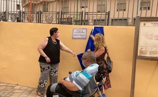 """Parque de accesibilidad """"Miguel Pavón"""""""