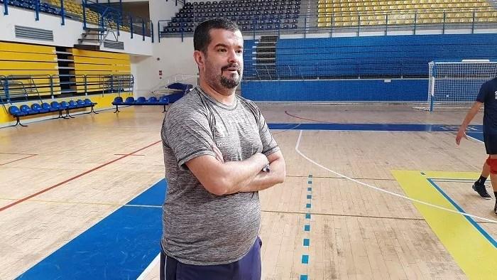 Salim Abdelkader, director deportivo y entrenador del Melilla Sport Capital Voleibol