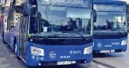 Autobús de la Cooperativa Ómnibus de Autobuses (COA)