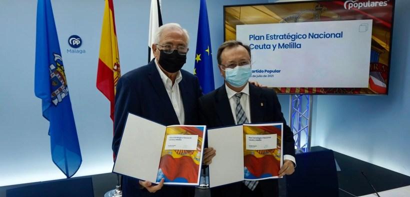 """El """"Plan Estratégico Nacional Ceuta y Melilla"""" del PP"""