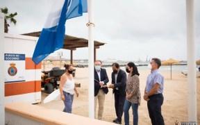Playa de Melilla bandera azul