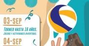 Cartel del Torneo de Feria de Vóley Playa