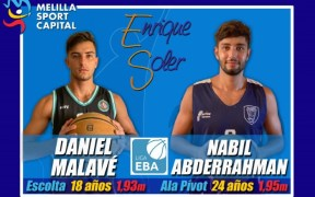 Nabil Abderrahman y Daniel Malavé se unen al proyecto del MSC Enrique Soler
