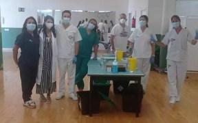 Equipo de vacunación de Melilla