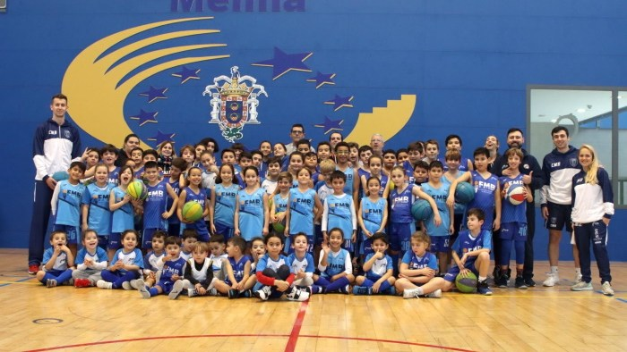 Campamento formación baloncesto Melilla