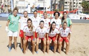 El Higicontrol se hizo con el título al vencer en la final al Playa de Cáceres por 3-1