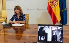 La Ministra de Educación y Formación Profesional, Pilar Alegría