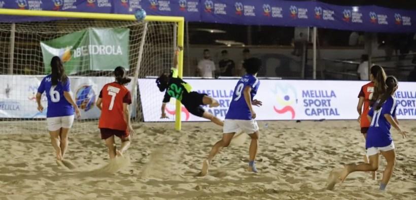 Fútbol playa Melilla