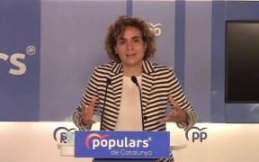 La portavoz del PP en el Parlamento Europeo, Dolors Montserrat