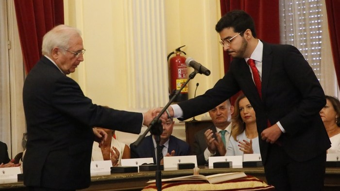 Juan José Imbroda y Mohamed Mohamed Mohand