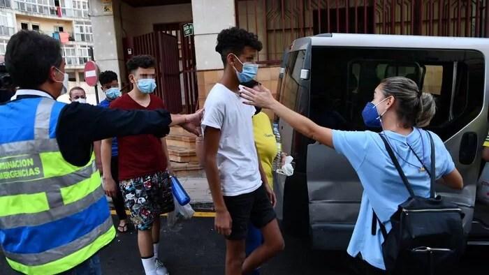 Repatriación de menores a Ceuta