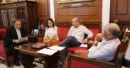 Mesa de la asamblea de Melilla