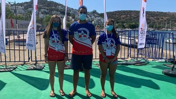 Cristina Padilla y Elena Paya se han desplazado junto al entrenador Yasir Mohamed
