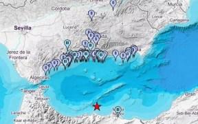 Melilla registra el mayor terremoto de la actual serie sísmica en el Mar de Alborán: magnitud 4.9