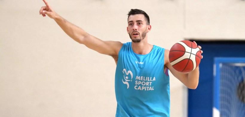 Adrián Chapela, jugador del MSCBaloncesto