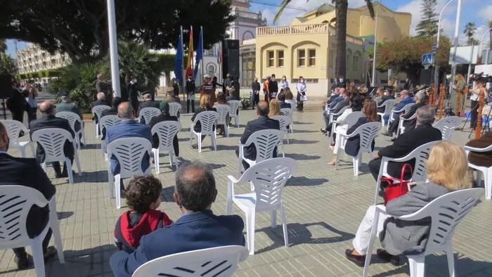 Acto en Melilla