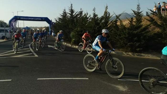 Imagen de la segunda etapa disputada ayer