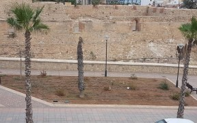 jardines de la carretera de La Alcazaba