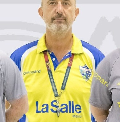 Pepe Torrubia, entrenador del MSCLa Salle B