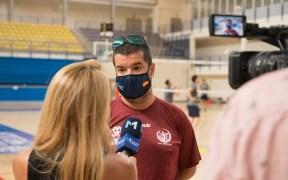 Salim Abdelkader, entrenador del MSC Voleibol